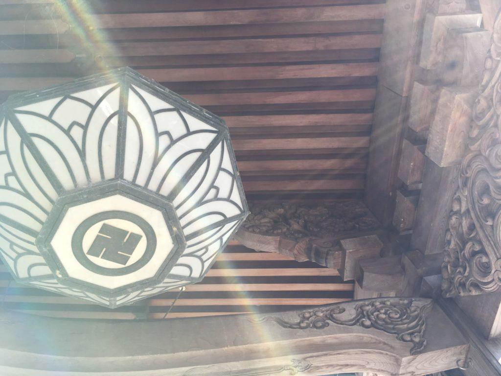 19番札所立江寺本堂彫刻