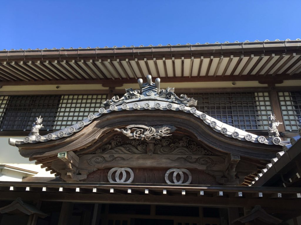 19番札所立江寺納経所